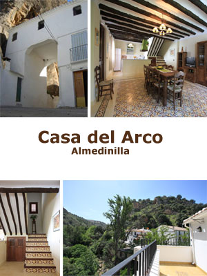 La Casa del Arco es la segunda casa diseñada por almedinillarural.com en pleno corazón de Almedinilla en las Sierras Subbéticas. Junto con La Casa Bernabela ofrecemos más de 20 plazas en alojamientos de lujo con las más altas prestaciones.